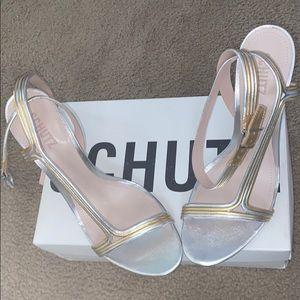 SCHUTZ sandal strap shoe